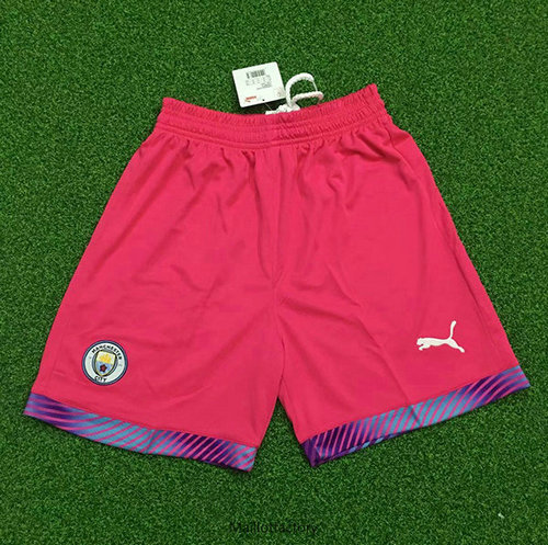 Achetés Maillot du Manchester City 2019/20 Gardien De But Short Orange