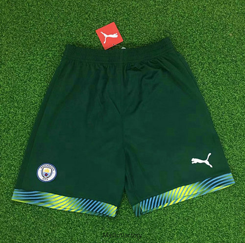 Flocage Maillot du Manchester City 2019/20 Gardien De But Short Vert