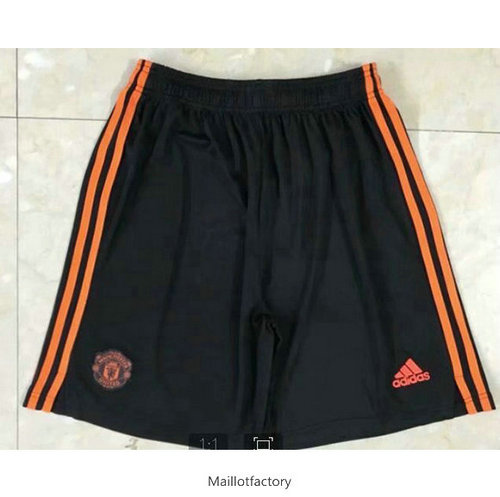 Pas cher Maillot du Manchester United Orange Short 2020/21