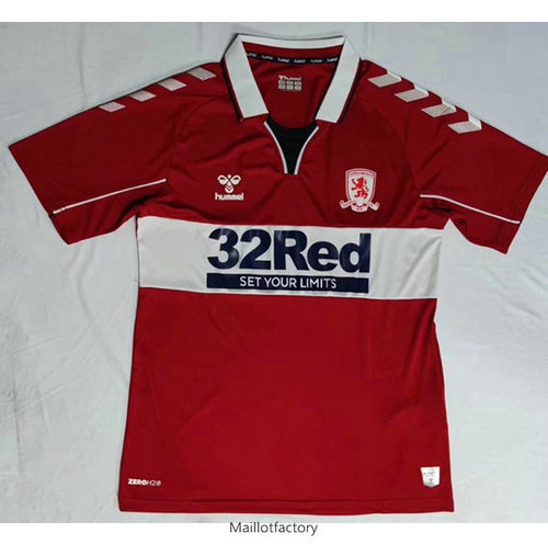 Flocage Maillot du Middlesbrough 2020/21 Domicile