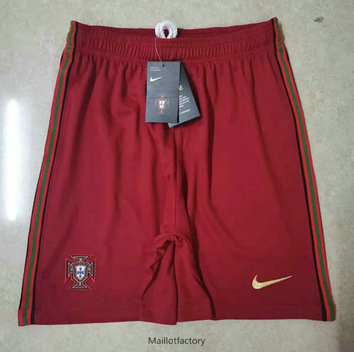 Flocage Maillot du Portugal Short 2020/21 Domicile