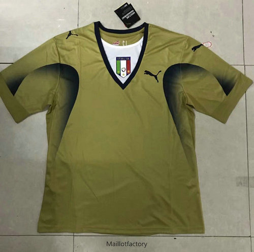 Prix Retro Maillot du Italie Or Gardien de but 2006