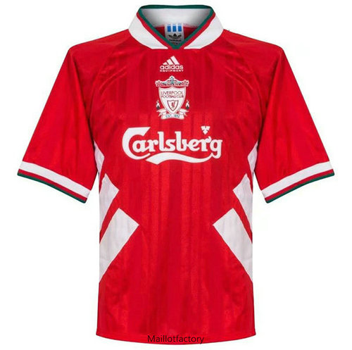 Flocage Retro Maillot du Liverpool 1993-1995 Rouge