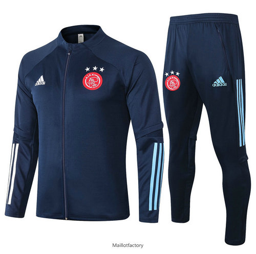 Flocage Veste Survetement AFC Ajax 2020/21 Bleu Marine