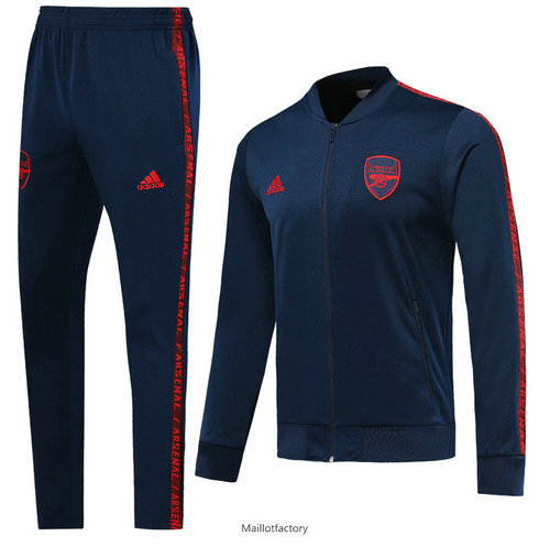 Flocage Veste Survetement Arsenal 2019/20 Bleu Marine Col bas