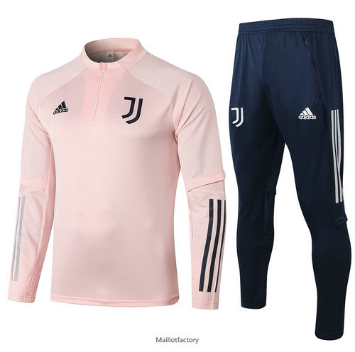 Flocage Survetement Juventus 2020/21 Rose