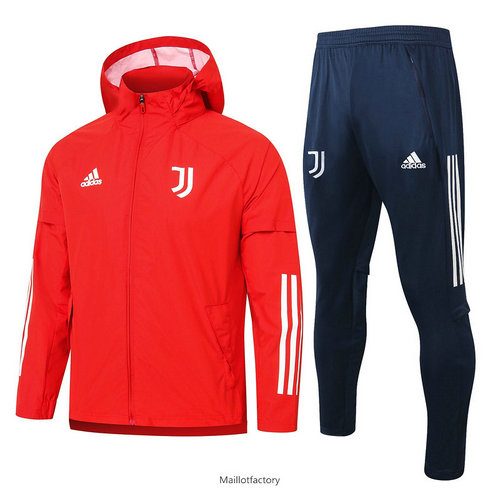 Achat Coupe vent Juventus 2020/21 Rouge