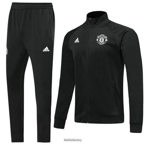Flocage Veste Survetement Manchester United 2019/20 Noir