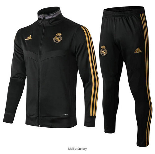 Prix Veste Survetement Real Madrid 2019/20 Noir