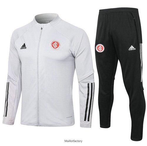Vente Veste Survetement SC Internacional 2020/21 Gris