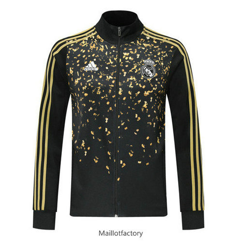 Vente Veste Real Madrid 2019/20 edition star Noir/Jaune