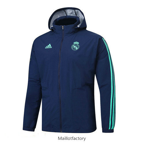 Flocage Coupe vent Real Madrid 2019/20 Bleu Marine